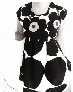 At times one needs some to ones life! I've combined two Short Sleeve Dresses, Dresses With Sleeves, Marimekko, Times, Sewing, Classic, Fabric, Prints, Handmade