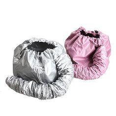 Professional Portable Household Soft Hood Bonnet Diffuser Attachment Hair Care Comfort Salon Hair Dryer Hat Cap with 2 Colors