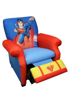 NewCo Warner Brothers Superman Deluxe Recliner