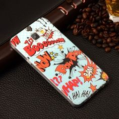 A510 Cartoon Gel Silicone Soft TPU Cover case