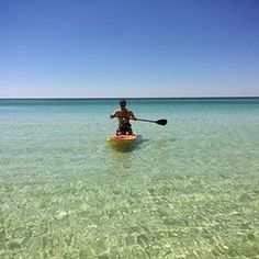 Get out, get active and enjoy the view! So many outdoor activities at Sandestin including water sports like SUP (stand up paddle boarding) and kayaking in the beautiful emerald waters!