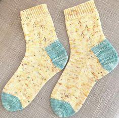 Easter socks Buttercup Socks pattern by Ellie Jones
