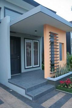 Ide desain untuk teras rumah minimalis modern
