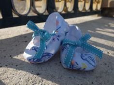 Super cute baby ballet shoes - check out this etsy shop for further details: https://www.etsy.com/shop/FrenchBub?ref=l2-shop-header-avatar
