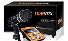Singtrix lets you sound like a rockstar (karoke)