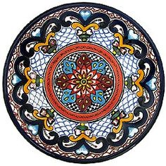 patterns Talavera plate