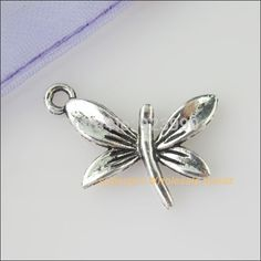 Free Shipping 20Pcs Tibetan Silver Tiny Dragonfly Charms Pendants 15x22mm For Jewelry Making Craft DIY-in Charms from Jewelry on Aliexpress.com | Alibaba Group