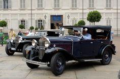 Torino, concorso d'eleganza per auto d'epoca