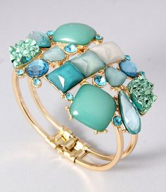 Cluster Cuff by GracieJewels on Etsy, $12.00