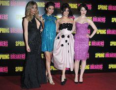 """+Amamos todos os looks, cada um com seu estilo!    Os looks das atrizes de """"Spring Breakers"""" para a première de Paris! - Radar Fashion - CAPRICHO"""