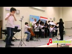 Here's the first performance of Musical Youth Choir of Alcalá.