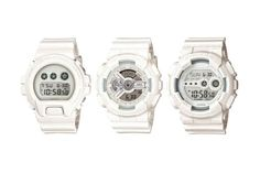 Casio Is Dropping a New Range of All-White G-Shocks - low price watches, watch online, quality mens watches *ad