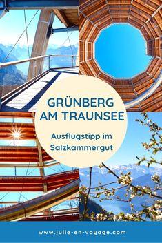 Grünberg am Traunsee - Tolles Ausflugsziel im Salzkammergut für die ganze Familie  Du weißt nicht, wohin am Wochenende? Wie wär's mit Grünberg? Noch nie davon gehört? Dann ab auf meinen Blog! Wir waren zu Ostern dort und können es wirklich nur empfehlen! Was du dort alles machen kannst, erfährst du im Beitrag. :)  #salzkammergut #grünberg #ausflugsziel #ausflugstipp #oberösterreich #wandern #reiseziel #österreich Bergen, Reisen In Europa, Austria, Beautiful Places, Fair Grounds, Teenager, Travel, Europe Travel Tips, European Travel