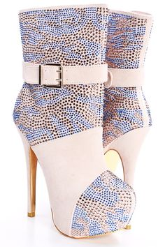 109.00$  Buy here - http://aliekm.worldwells.pw/go.php?t=32600189182 - Ivory Colorful Rhinestones Short Boots Ankle High Boots For Women Real Image High Heels Boots 2016 Plus Size US14 Buckle 109.00$