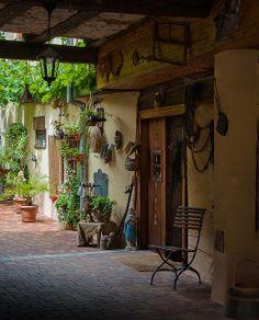 Turckheim Courtyard - Alsace, France