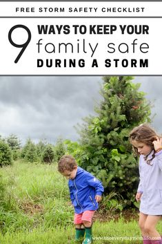 9 Ways To Keep Your Family Safe During Bad Weather #sponsored #TakeSimpleSteps #countryfinancial #family #parenting #parentingtips #motherhood #parents #home #storm #summer #momhacks #momgoals