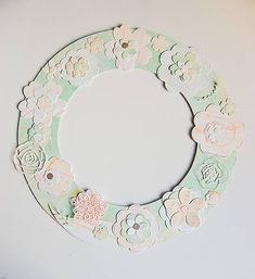 MonRoy / Dekoračný veniec Scrapbooks, Decorative Plates, Wedding, Valentines Day Weddings, Scrapbooking, Weddings, Scrapbook, Marriage, Chartreuse Wedding
