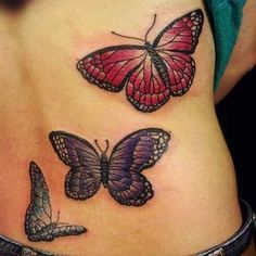 butterfly tattoos | Butterfly Tattoos With Beautiful Meaning