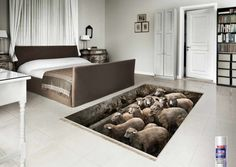 Counting sheep to get you to sleep? OK. But do you really want a pit full of sheep in your bedroom?