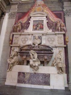 Michelangelo's toumb    Florence, Italy