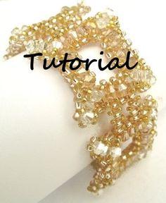 Sparkling Champagne Bracelet Tutorial by MyAmari on Etsy, $2.75