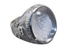 Custom Bespoke Family Crest Sterling Silver Signet Ring by Regnas, $525.00