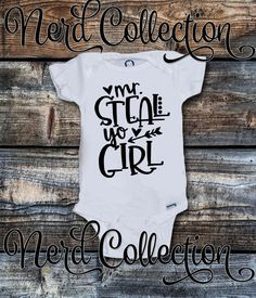 Baby Onesie It's Mr. Steal Your Girl Song Hip Hop Music Rap Hipster Baby Boy New Baby Shower Gift Nursery Funny Custom Baby Clothing Gerber by NerdCollection on Etsy https://www.etsy.com/listing/514029147/baby-onesie-its-mr-steal-your-girl-song