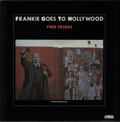 """Frankie Goes To Hollywood Two Tribes - Annihilation 12"""" vinyl single (12 inch record / Maxi-single) UK FGT12TW15803"""