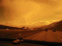Driving around Park City Utah #theworldisBLU