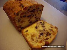 Brioche Recipe, Kolaci I Torte, Homemade Cakes, Dessert Recipes, Desserts, Cookie Dough, Banana Bread, Cheese, Cookies