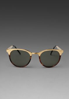 REPLAY Heavy Cat Sunglasses in Gold Rim at Revolve Clothing - Free Shipping!