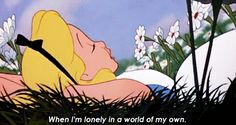 """48. """"In a World of My Own"""" — Alice in Wonderland 