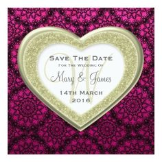 Image from http://www.modernweddinginvitation.info/invitations/template/custom/full/save_the_date_glitter_heart_gold_mod_lace_pink_invitation-p1610485712243254492dzjr_333.jpg.