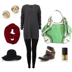 """Family Holiday Festivities"" by handbagheaven on Polyvore #handbagheaven"