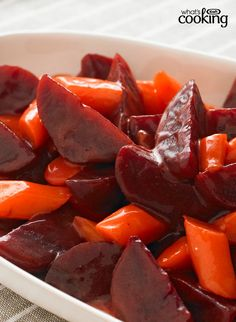 Roasted Beets & Carrots #recipe