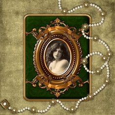 Pearl Jewelry Frame...lovely.