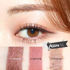 #Korean Eye Make Up #from_hh   Pin By Aki Warinda #MakeupDupes #KoreanMakeupTips