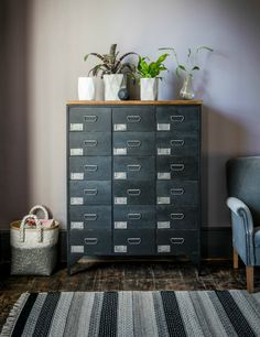 Black Apothecary Chest, eclectic home accessories and stylish furniture for vintage and modern living.