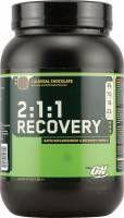 Optimum Recovery 2:1:1 to rewelacyjny suplement wspierający regenerację mięśni. Jeśli trenujesz ciężko i zależy Ci na szybkiej regeneracji wybierz 2:1:1 Recovery #optimum #recovery #suplementy