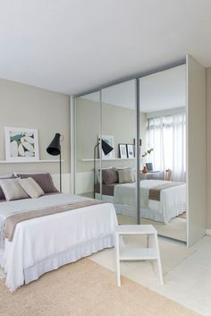 Room decor quarto pequeno 63 Ideas for 2020 Dream Rooms, Dream Bedroom, Home Decor Bedroom, Bedroom Furniture, Wardrobe Design Bedroom, New Room, Interior Design, Bedrooms, Inspiration