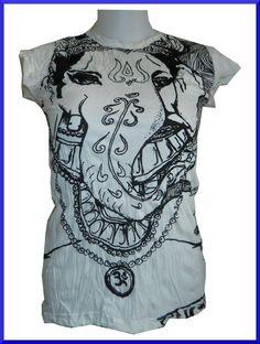 812433766 Lady Tank Top Shirt Ganesh Hindu India Sure OneSz RARE. John Ryan · T-shirts