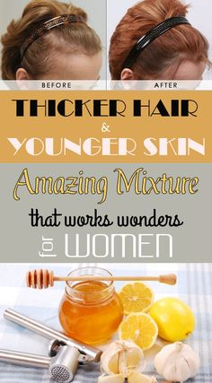 Thicker hair and younger skin: Amazing mixture that works wonders for women - BestWomenTips.com