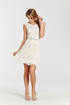 Short wedding dresses collections 16
