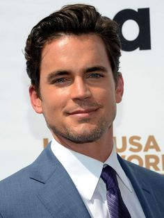 Matt Bomer, the hunky star of USA's White Collar and the male-stripper movie Magic Mike