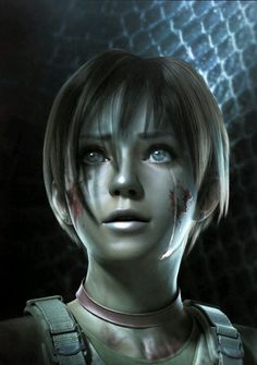 i never knew why rebecca chambers wore that choker in resident evil 5 until that one feelsy day i played the first one