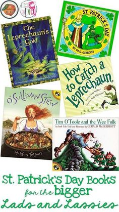 St. Patrick's Day books for the BIGGER Lads and Lassies