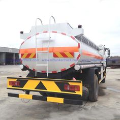 3000 gallons Aluminum oil tanker truck for sale
