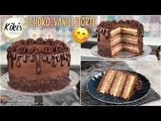 Diät gescheitert ❌ Kikis Schokoladenbombe 😍 Schoko-Vanille festlich dekoriert / Geburtstagstorte - YouTube Easy Diets, Coffee Drinks, Tiramisu, Muffins, Menu, Sweets, Sugar, Ethnic Recipes, Desserts