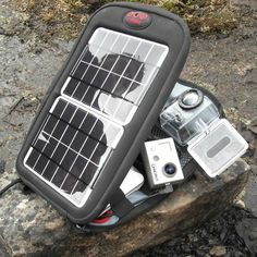 Keep your #gopro batteries charged up and keep the footage running. #solar