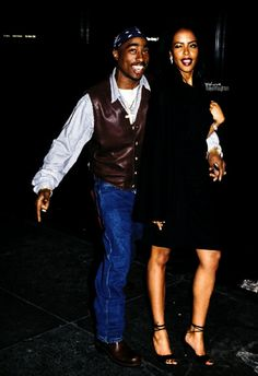"Tupac & Aaliyah: "" Queen & King together "" Weight Training http://www.definitionfitness.club/"